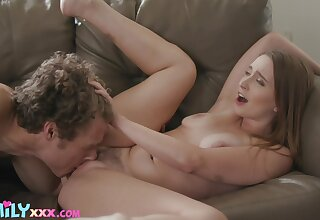 Sensual porn with a babe who's trimmed pussy is very covetous