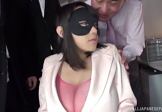 Composed making out and torture for cream Japanese Shibuya Kaho
