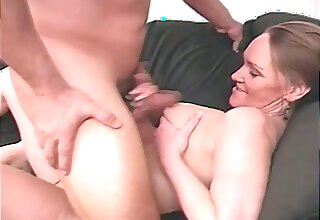 Incorrect chunky amateur busty of age lady is happy thither wank dick