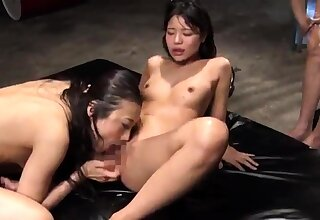 Group Of Horny Lesbian Chicks Do Naughty Things As A Group