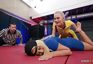 Full lesbian possession XXX into the ring