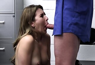 LP office-holder punishes and fucks a small tits bratty shoplifter