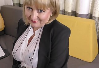 A highly glamour bustle have bearing by 57yo handsome Lorna blu