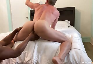 Full anal surrounding POV gay porn with a nefarious toff and his white follower groupie