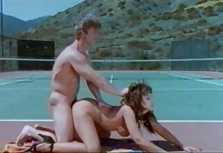 Retro porn movie with busty sluts