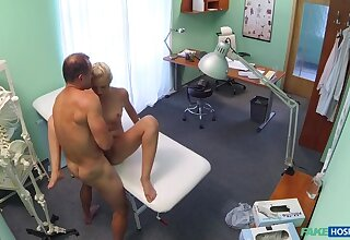 Doctor helps vest-pocket-sized euro chicks almost ache with a dose of hot copulation