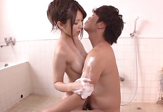 Passionate shacking up with adorable Japanese pornstar Yui Hatano