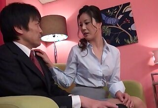 Attractive chick gets dicked hard on an obstacle bed - Maeda Tomoko