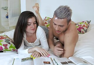 Cum in brashness ending fore pretty Stefany Kyler after passionate sex