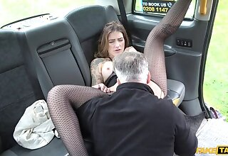 Cab anal with big pointy nipples
