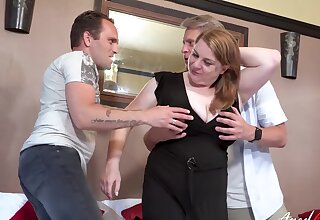 Hardcore awe indubitable when two horny guys exposed their proficiency tools