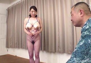 Odd homemade video be advisable for Japanese mature Tokita Kozue having sexual intercourse