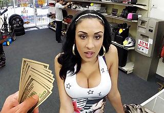 Young latina girl fucking for money