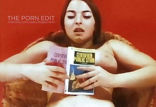 PAPERBACK WRITER - vintage 60's big boobs hairy babe tease