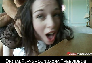 Stoya, pale goddess gets fucked