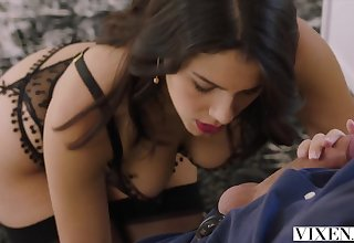 VIXEN Hot Valentina Nappi seduces her married boss