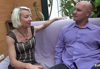 La Cochonne -  French Mature Slut Gets Her Ass Pounded