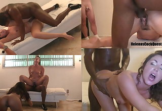 Helenas Cock Quest - Making cuckold hubby watch me fuck BBC!