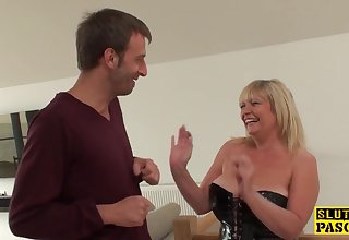 Mom British Sub Gets BDSM Lovemaking Humiliation
