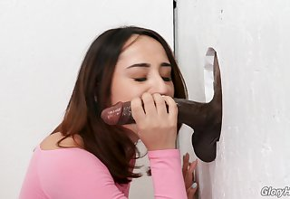 Isabella Nice enjoys dick eating before she gets fucked trough the boundary-line