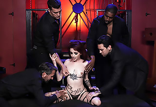 Lola Fae's First Gangbang - Painless Above So Below Part 2