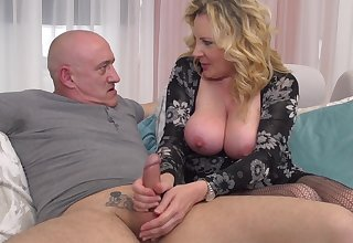 Beautiful Blond Be thick Girl Buttery Mommy Pounded Hard  - rough