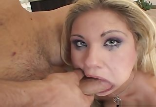 BrutalClips - Bitch Is Ecstatic at the Sight of so Many Cocks