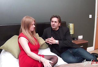 AgedLovE Classy Mature Lady Fucked Unqualifiedly Hard