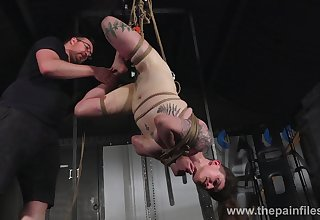 Brutal and painful villeinage workout for obedient and poor nympho Ivy