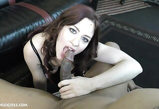 Jessica Ryan enjoys sucking strong penis like time to come not in any way comes