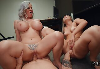 What a great mom and young gentleman cock sharing special